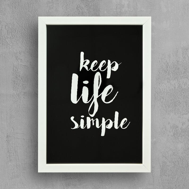 Keep Life Simple\