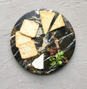 Basic Brown Marble Platter