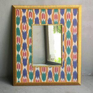 Multi Ikat Mirror