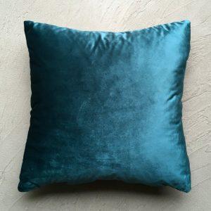 Plain Teal Velvet - The Garden Collection