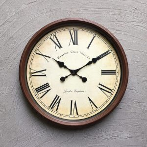 The Old World Wall Clock