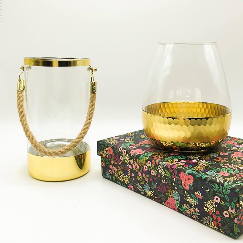 Home Decor: Gold Hanging Jar | Cheezain etc.